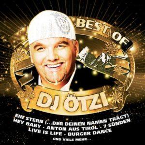 Cover der Best of CD von DJ Ötzi