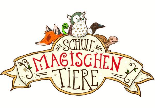 Das Logo der Hörbuch-Reihe Die Schule der magischen Tiere